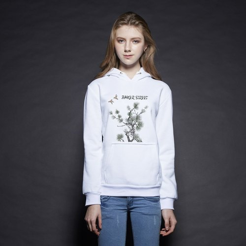 British Fashion Brand [Baker Street] Image of East Printed Hoodie