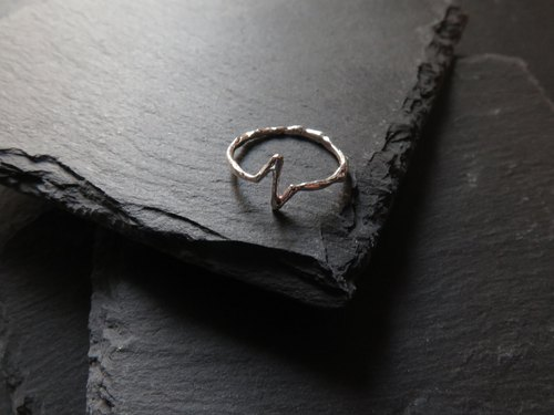 único Series - Beat  (925 Sterling Silver Ring)