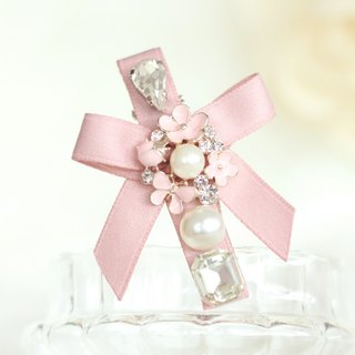 Pretty Pastel Ribbon Hair Clip