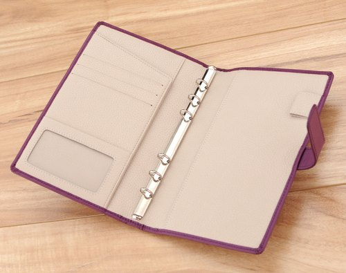 STORYLEATHER build customized Style 90864 A6 size notebook