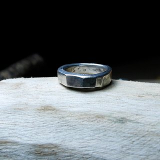 Have good day / Silver925 / Silver / irregular / hand ring / Ring