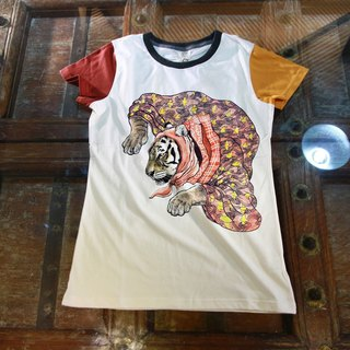 [Fairy tale] Hu Gupo animal organic cotton T (F)