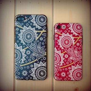 "Flame Season Greetings Jam ""Bandanna"" Phone Case"