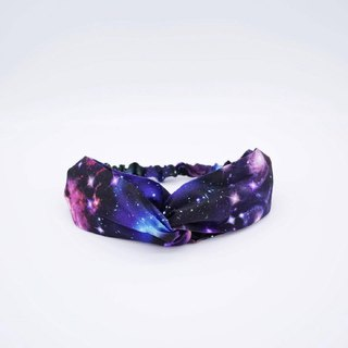 Parallel Cosmic Planet Handmade Hair Band Limited Hair Band Cross Hair Band