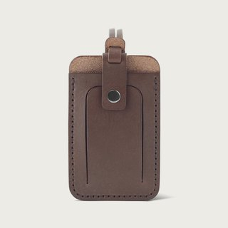 LINTZAN Luggage Tag / Easy Clip - Deep Coffee