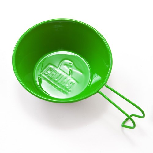 CHUMS Japan Limited Booby toxic brightening stainless steel bowl 100cc lime green
