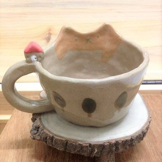 Give the cat a home tree mug