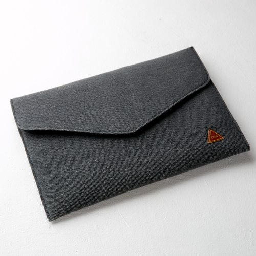 Rustic Envelope Sleeve Soft Case Black color