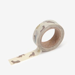 Dailylike single roll of paper tape-94 otter, E2D01721