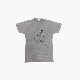 NORITAKE - SKATER BOY T-SHIRT (gray)