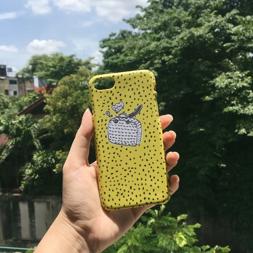 YASUMU CASE : mustard colour