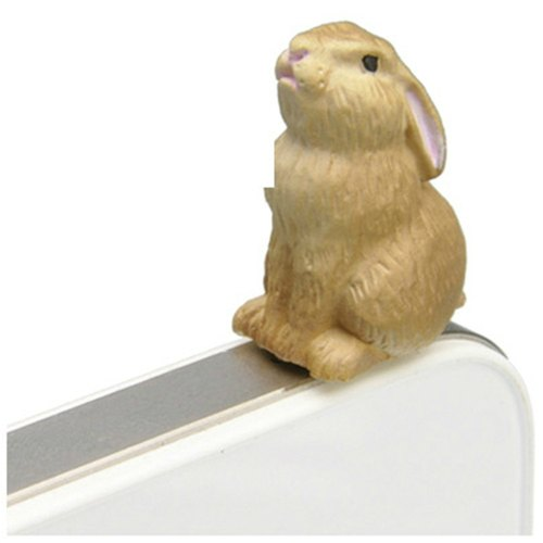 [RELAX] iplug animal modeling earphone dust plug - Rabbit