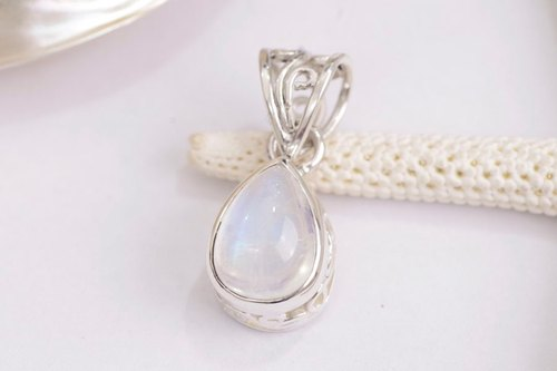 Pendant Rainbow Moonstone