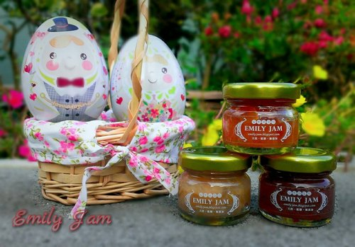 Love honey handmade jam - small pieces of wedding 28g bottle of the bride and groom Princess Prince egg jam group (including jam, packaging)