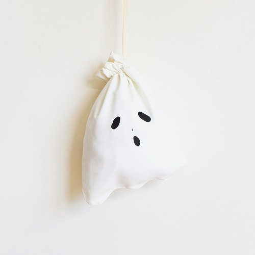 ghost lunch bag : off-white