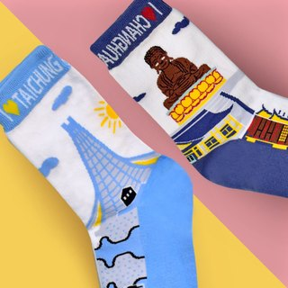 Pair of socks - Taichung SOCKS+ Changhua socks Taiwan Changhua SOCKS