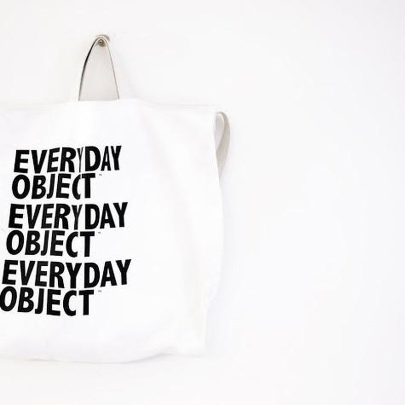 [Spot] EVERYDAY BAG BY EVERYDAY OBJECT - White
