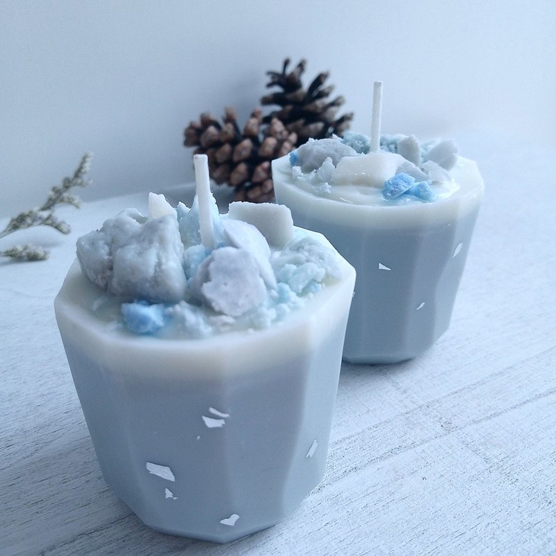 Stone | Natural Soywax Scented Candle | aniseed | Birthday Gift