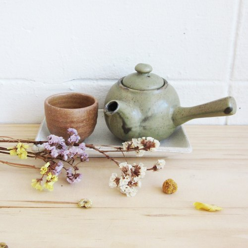 Handmade Potteries Tea Sets Selected by Tan / SET18