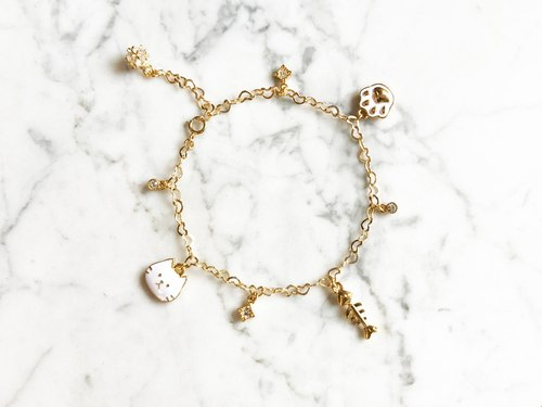 """Healing time"" Meng meow daily cat bracelet"