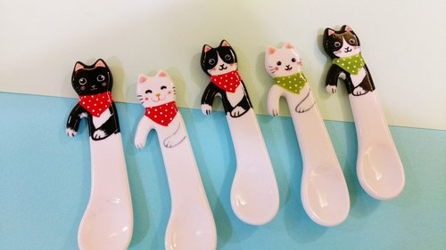 Small animal healing magic spoon single cat version of the birthday wedding small preferred