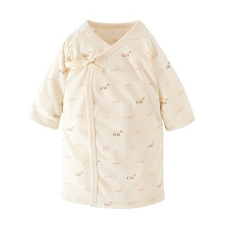【SISSO organic cotton】 SISSO SISSO soft cotton baby gown 3M 6M