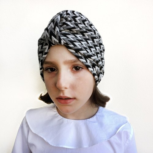 Herringbone Turban (Size: 3-10 years old)