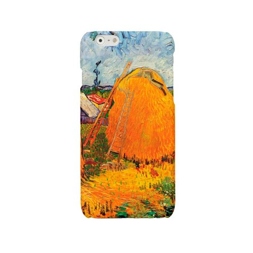 Van Gogh iPhone 6 6s 7 case Impressionism iPhone 6 Plus haystacks iPhone 5 5S cover iPhone SE iPhone 4 4S Samsung S7 Galaxy S4 S5 S6 case 1741