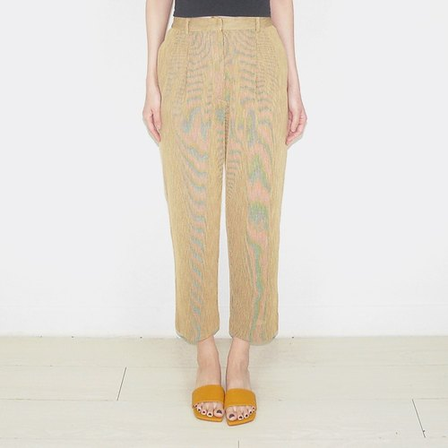 Ming yellow high waist ancient pants BA1015