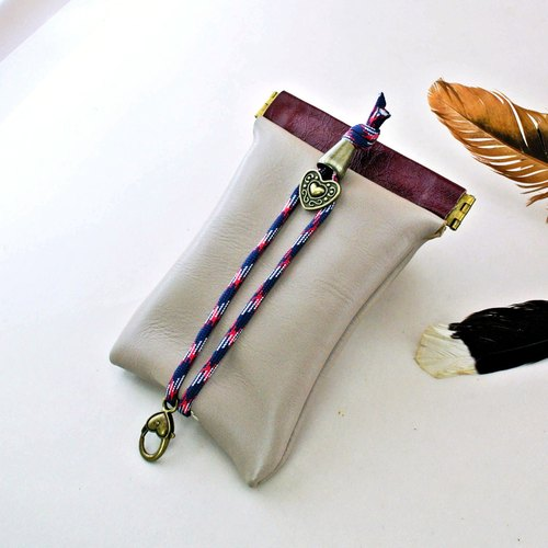 ✦. Good comfortable stitching Wallets shrapnel. ✦ key / key / Storage / key case