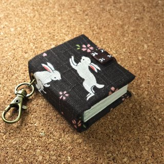 [日和‧Sakura rabbit] Mini small phase key ring 5cmX4.3cm-custom small things