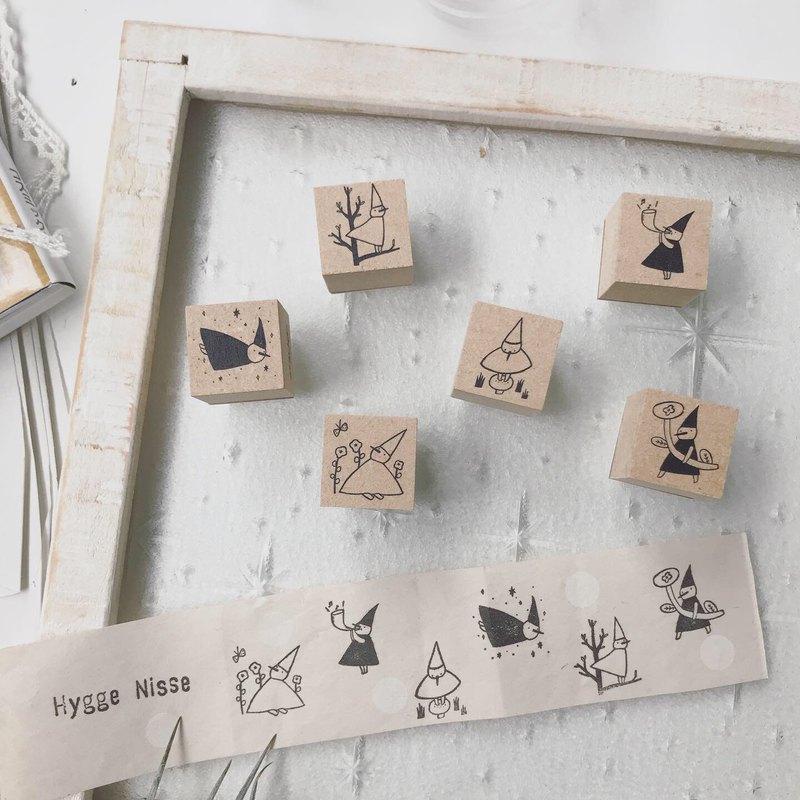 Hygge nisse 慢活小日子 - 木製印章