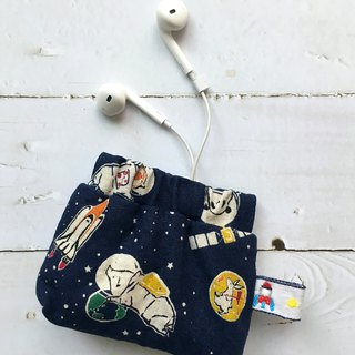 Animals in space | Small storage bag