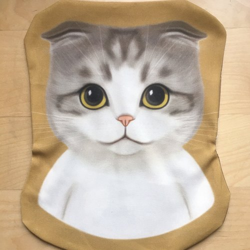Scottish Fold White Cat Pillow Bag