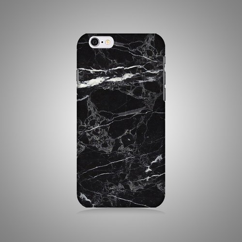"Free pre-qualified Taiwan shipped monocoque ""shell"" series - Black marble pattern more original phone shell / protective sleeve iPhone / Samsung / HTC / Sony / LG"