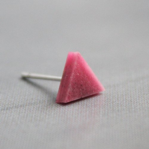 Triangle Earrings ▽ 116 / Let's Dance ▽ Single Stud