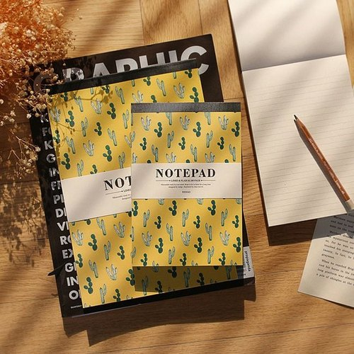Indigo - willow wind notes paper Big (big) - cactus yellow, IDG09151