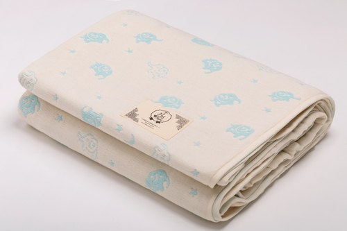 [In Japan] sextet Sanhe wood cotton gauze was wishing good night stars like L No.