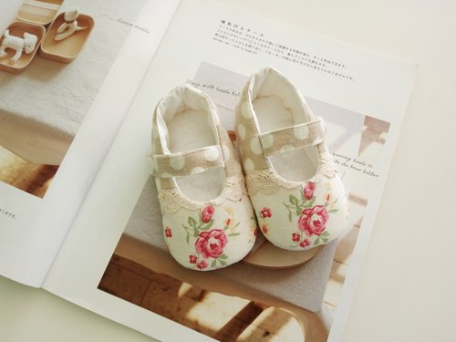 Rose births gift baby shoes baby shoes spot 12 cm