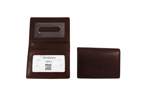 FULLGRAIN │ Simple card holder with deep coffee