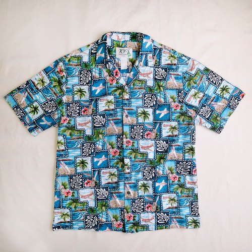 Vintage Hawaiian Shirts Hawaiian shirt