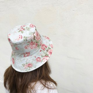 British Roses / American Cotton print / double-sided use bucket hat