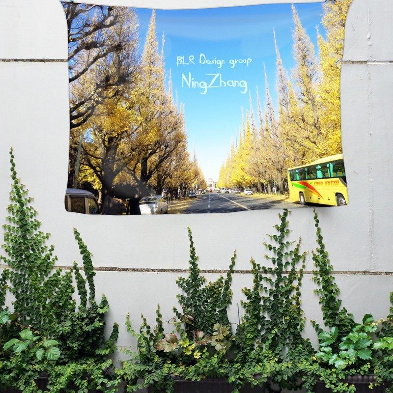 免費訂製你的專屬壁幔 家飾 布幔 BM05 樹 Wall Tapestry