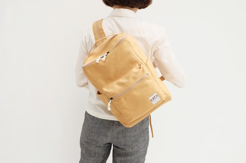BUCKET BEAM BAG : HONEY COLOR