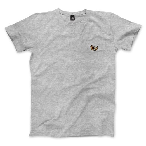 nice to MEAT you - Chicken - Deep Heather Grey - Unisex T-Shirt