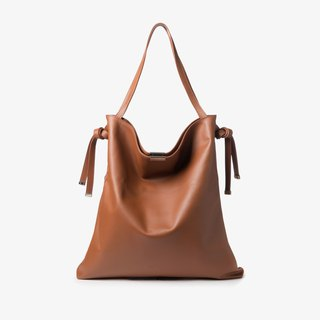 Ally Tote/Clutch Bag | Cinnamon