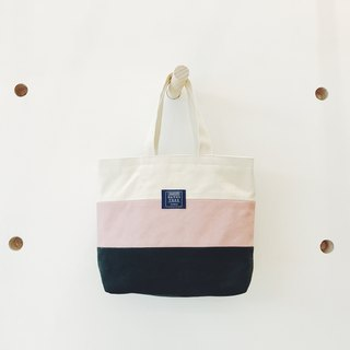 :: :: Bangs tree mixed colors portable small tote bag _ white blue lotus root starch