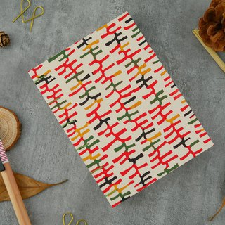 Interwoven line-A5 manual notebook / PDA / diary / photo album / log / gift