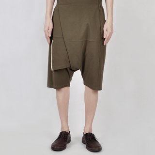 AFTER - Asymmetric splice shorts