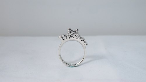 64DESIGN perspective stacking order - Name Ring B